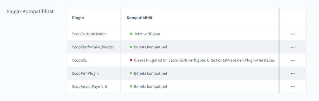 shopware update plugins